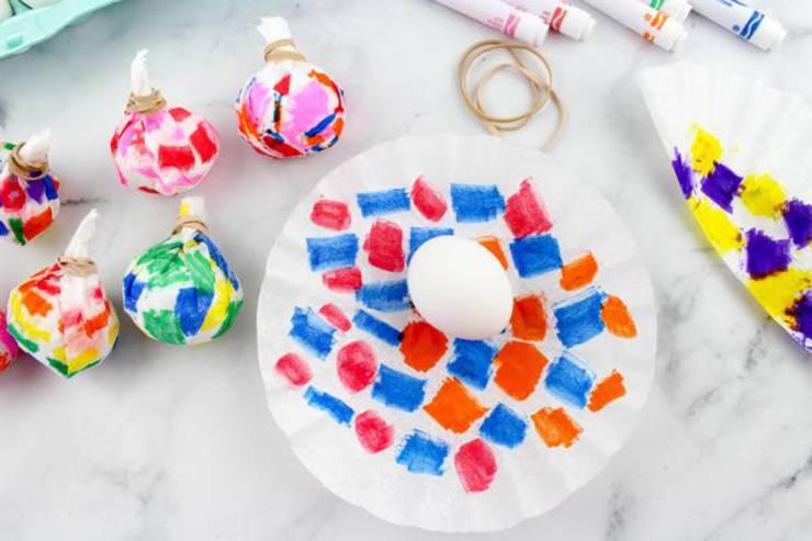 Easter Eggs Tie Dye