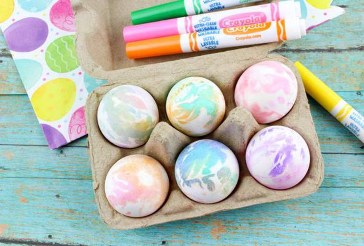 BEST Dyed Easter Eggs! How To Tie Dye Easter Eggs – EASY DIY Easter Egg Decorating Ideas Kids Will Love