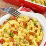 5 Ingredient Mac And Cheese - EASY Mac & Cheese - BEST Stove Top Bacon Mac and Cheese Recipe - Creamy Homemade Dinner - Lunch - Side Dishes