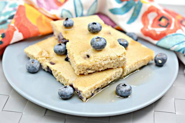 Keto Pancakes! BEST Low Carb Keto Sheet Pan Blueberry Pancake Idea – Quick & Easy Ketogenic Diet Recipe – Beginner Keto Friendly – Snacks – Desserts – Breakfast