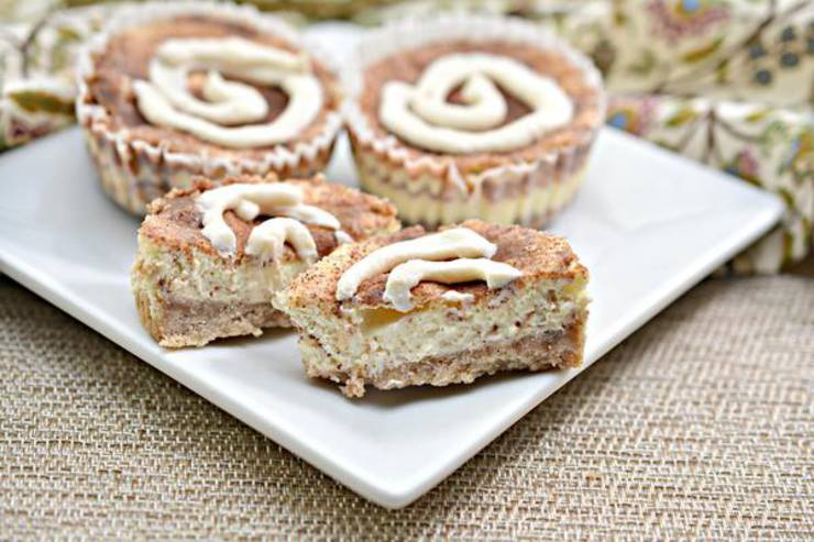 BEST Keto Cinnamon Roll Cheesecake! Low Carb Mini Cinnamon Roll Cheesecake Idea – Quick & Easy Ketogenic Diet Recipe – Beginner Keto Friendly – Snacks – Desserts – Breakfast