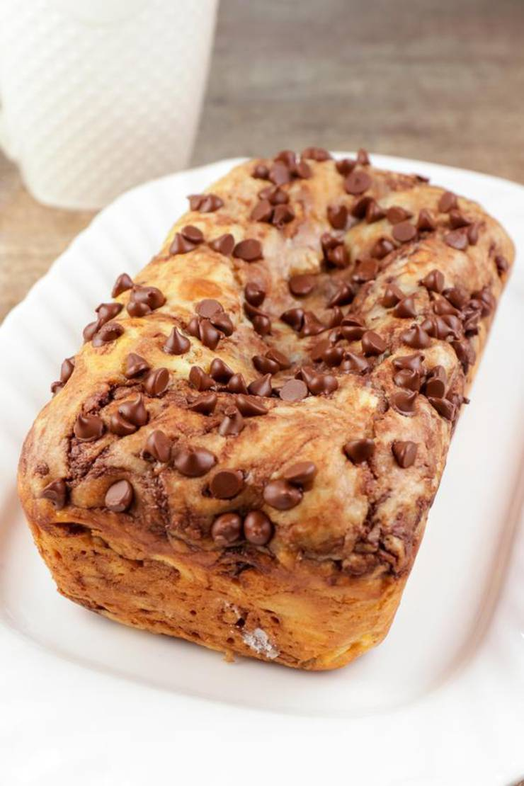 Keto Bread! BEST Low Carb Keto Fathead Dough Chocolate Chip Loaf Bread Idea – Quick & Easy Ketogenic Diet Recipe – Beginner Keto Friendly – Snacks – Desserts – Breakfast