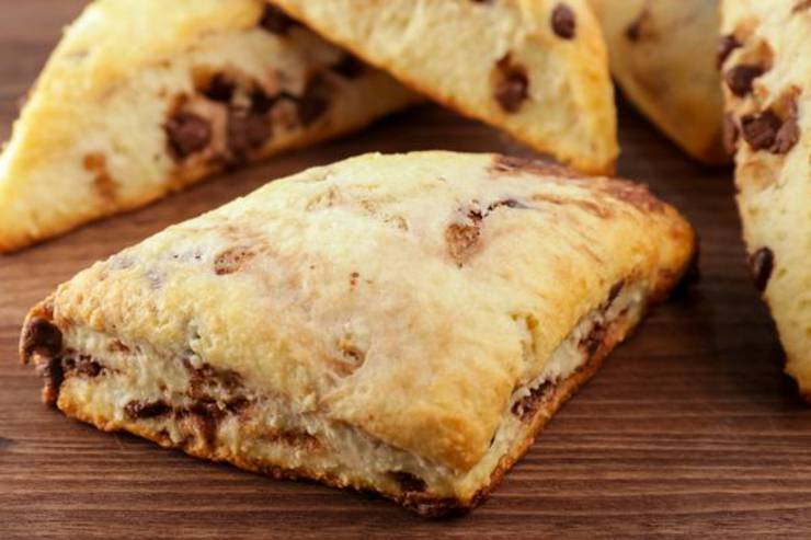 BEST Keto Scones! Low Carb Fathead Dough Chocolate Chip Scones Idea – Quick & Easy Ketogenic Diet Recipe – Beginner Keto Friendly – Snacks – Desserts – Breakfast