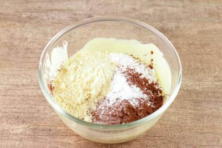 Keto Fathead Dough Peanut Butter Brownies