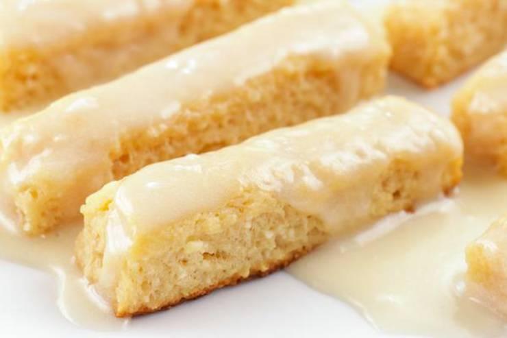 BEST Keto Glaze Donut Fries! Low Carb Doughnut Idea – Homemade – Quick & Easy Ketogenic Diet Recipe – Keto Friendly & Beginner – Desserts – Snacks – Breakfast