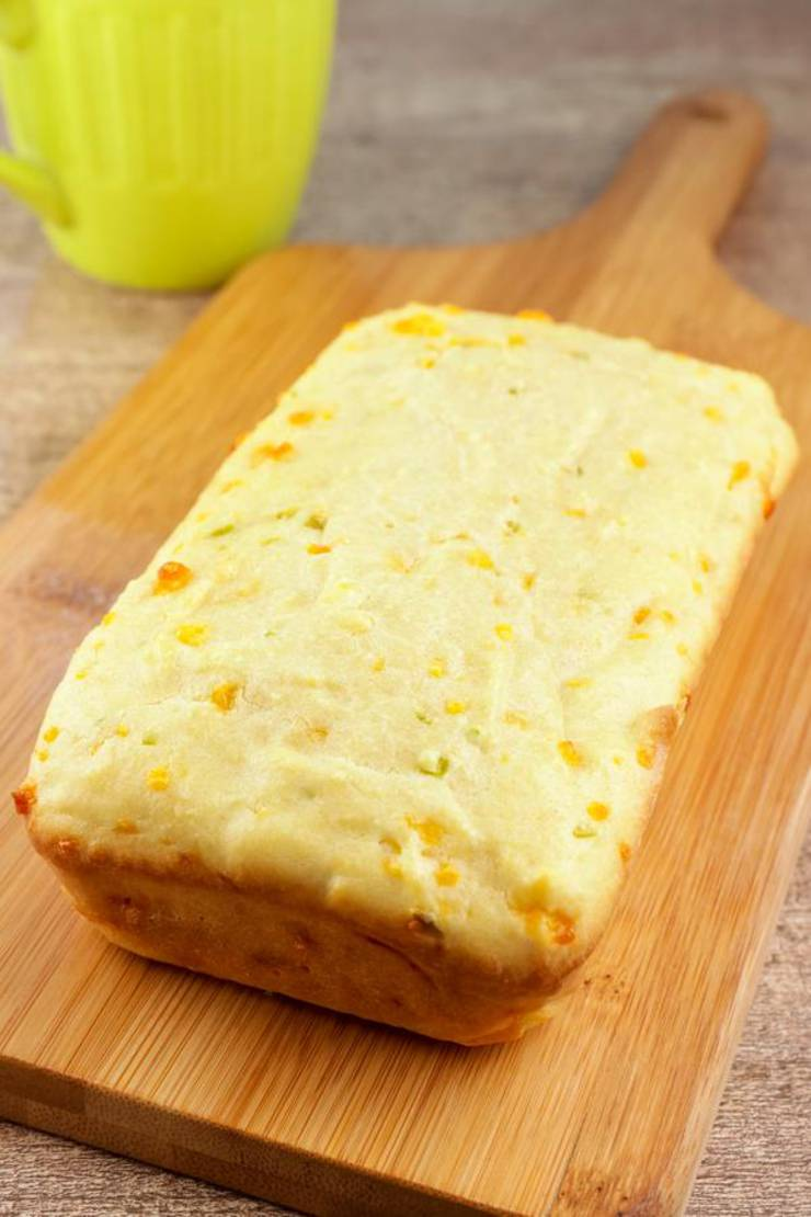 Keto Bread! BEST Low Carb Keto Jalapeno Cheddar Loaf Bread Idea – Quick & Easy Ketogenic Diet Recipe – Beginner Keto Friendly – Snacks – Lunch - Dinner - Side Dishes – Appetizers