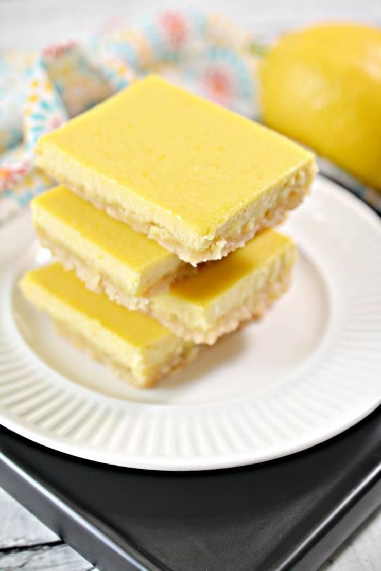 Keto Brownies Best Low Carb Keto Lemon Brownie Recipe