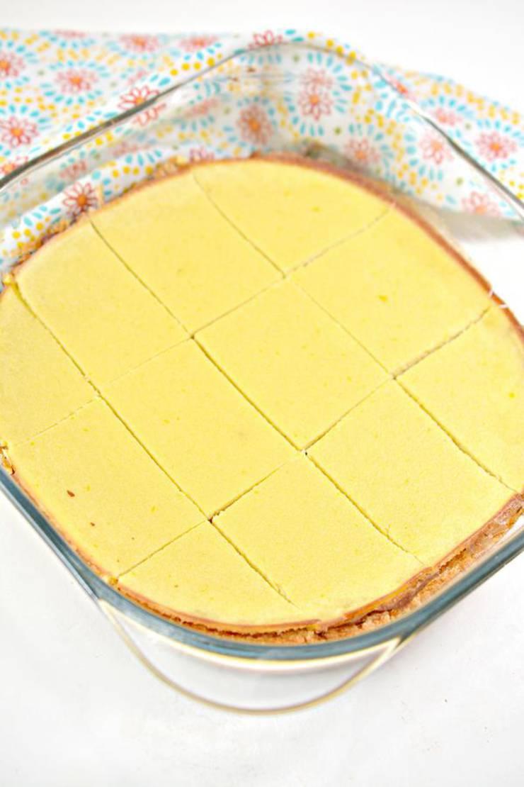 Keto Lemon Brownies