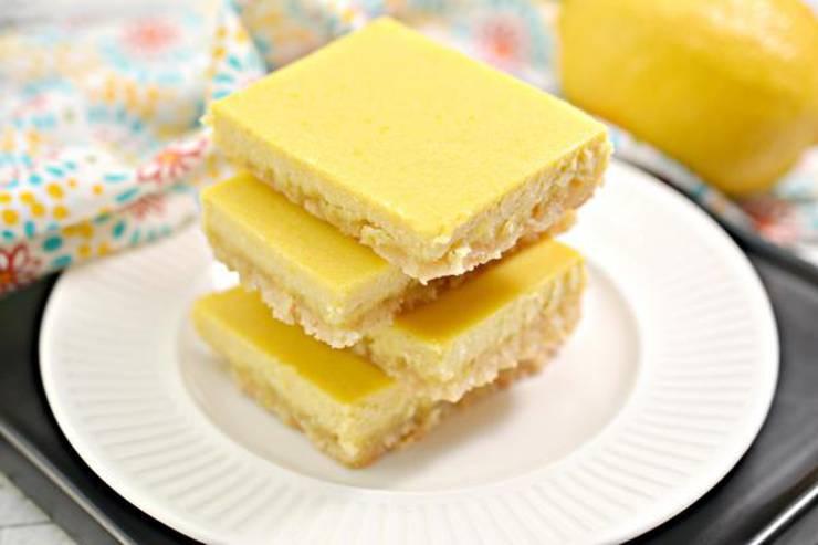 Keto Brownies – BEST Low Carb Keto Lemon Brownie Recipe – Easy – Desserts – Snacks – Sweets – Keto Friendly & Beginner