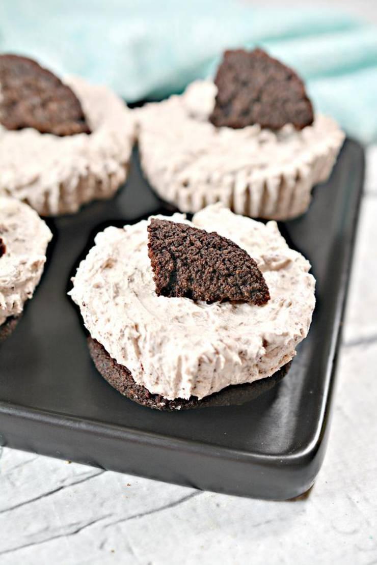 5 Ingredient Keto Cheesecake – BEST Low Carb Keto Oreo Cookie Cheesecake Bites – Easy – Snacks – Desserts – Keto Friendly & Beginner