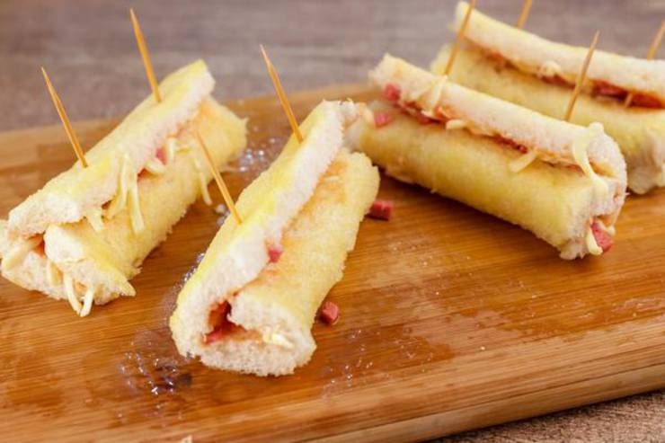 Party Food Pizza Roll Ups
