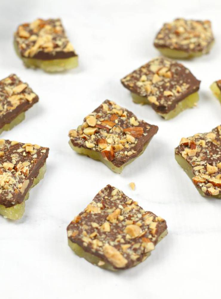 BEST Weight Watchers English Toffee! WW English Toffee Candy Idea – Quick & Easy Weight Watchers Diet Recipe – Snacks – Desserts