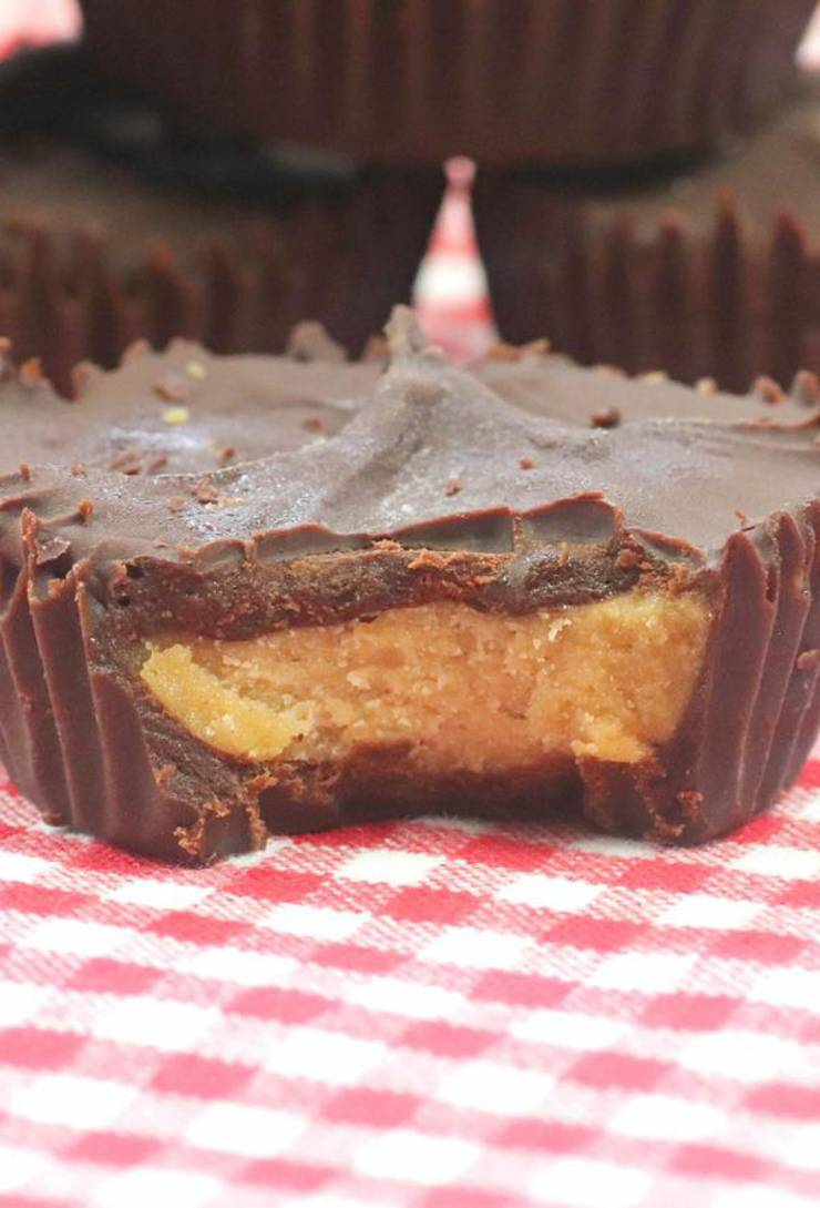 Weight Watchers Peanut Butter Cups – BEST WW Chocolate Peanut Butter Candy Idea – Copycat Reese's Cups - BEST WW Recipe – Treat – Desserts – Snacks with Smart Points