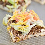Weight Watchers Taco Pizza – BEST WW Sheet Pan Pizza Recipe – Dinner – Lunch – Treat – Appetizers - Snack with Smart Points