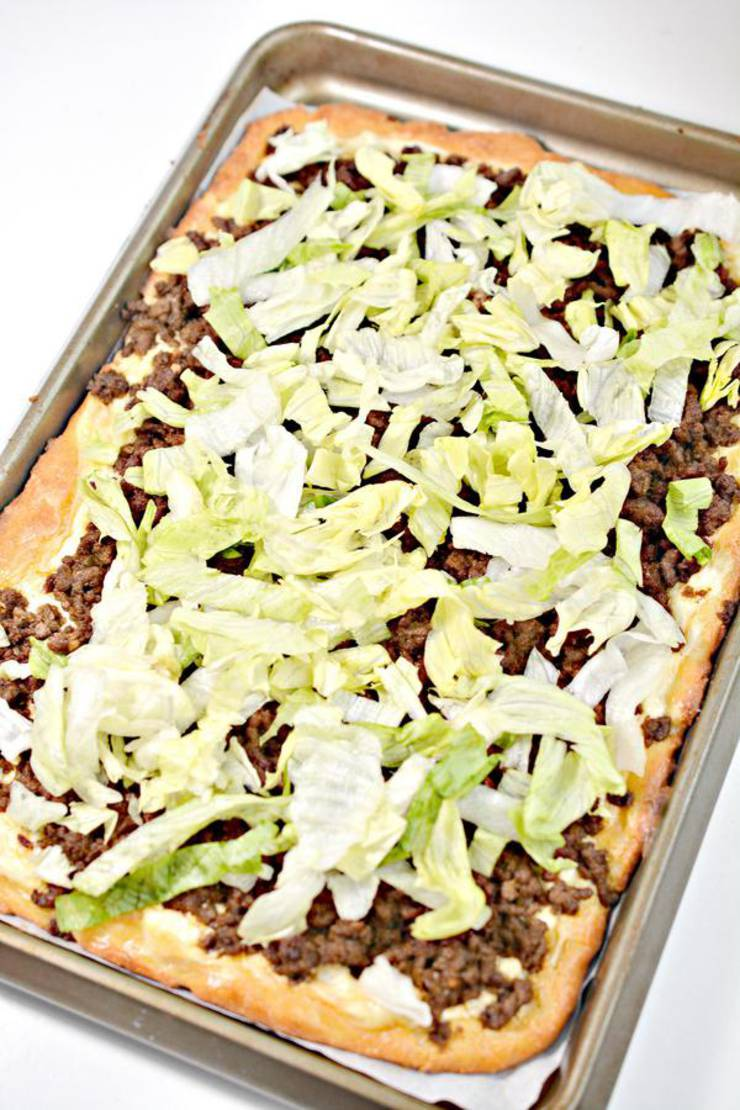 Weight Watchers Taco Pizza