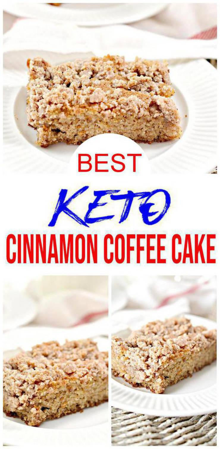 Keto Coffee Cake! BEST Low Carb Keto Coffee Cake Idea – Quick & Easy Ketogenic Diet Recipe – Beginner Keto Friendly – Snacks – Desserts – Breakfast