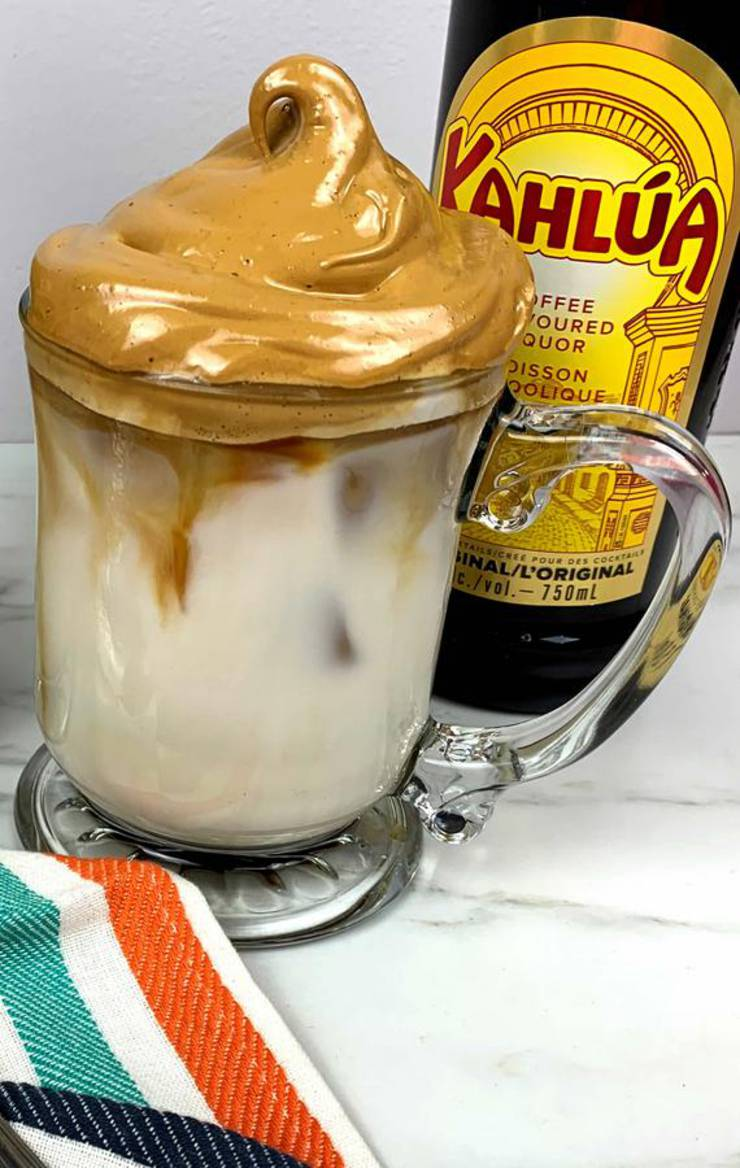 Dalgona Coffee - BEST Whipped Dalgona Coffee Recipe – Alcoholic Drinks – Easy and Simple Kahlua Coffee
