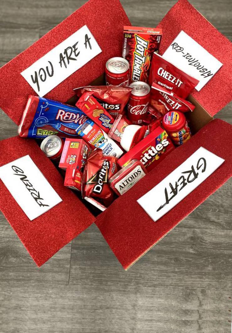 Care Package Easy Diy Care Package Ideas Homemade Gift Box Presents Boyfriend Girlfriend Best Friends Creative