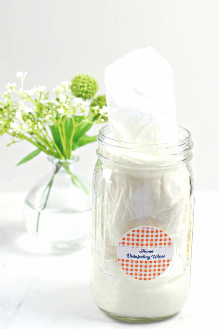 DIY Disinfectant Wipes – BEST Homemade DIY Disinfecting Cleaning Wipes Recipe – Rubbing Alcohol – Essential Oil