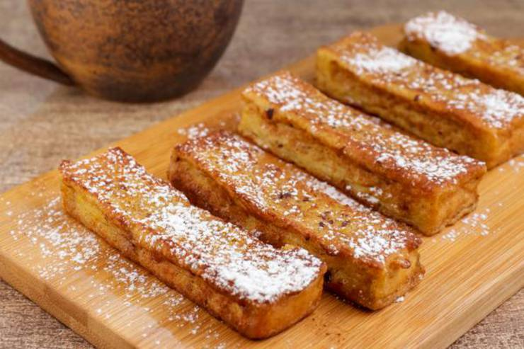 EASY French Toast – Quick and Simple French Toast Sticks Recipe – BEST French Toast – Breakfast – Desserts – Snacks