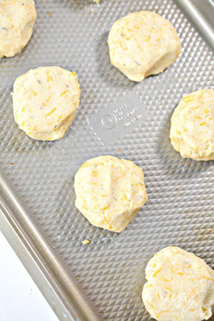 Keto 3 Cheese Biscuits