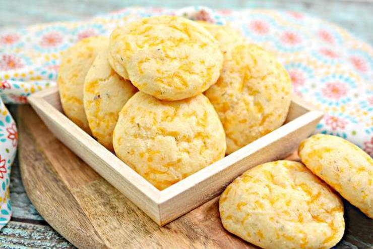 Keto Bread! BEST Low Carb Keto 3 Cheese Biscuits Bread Idea – Quick & Easy Ketogenic Diet Recipe – Beginner Keto Friendly – Snacks – Side Dishes– Appetizers - Lunch - Dinner
