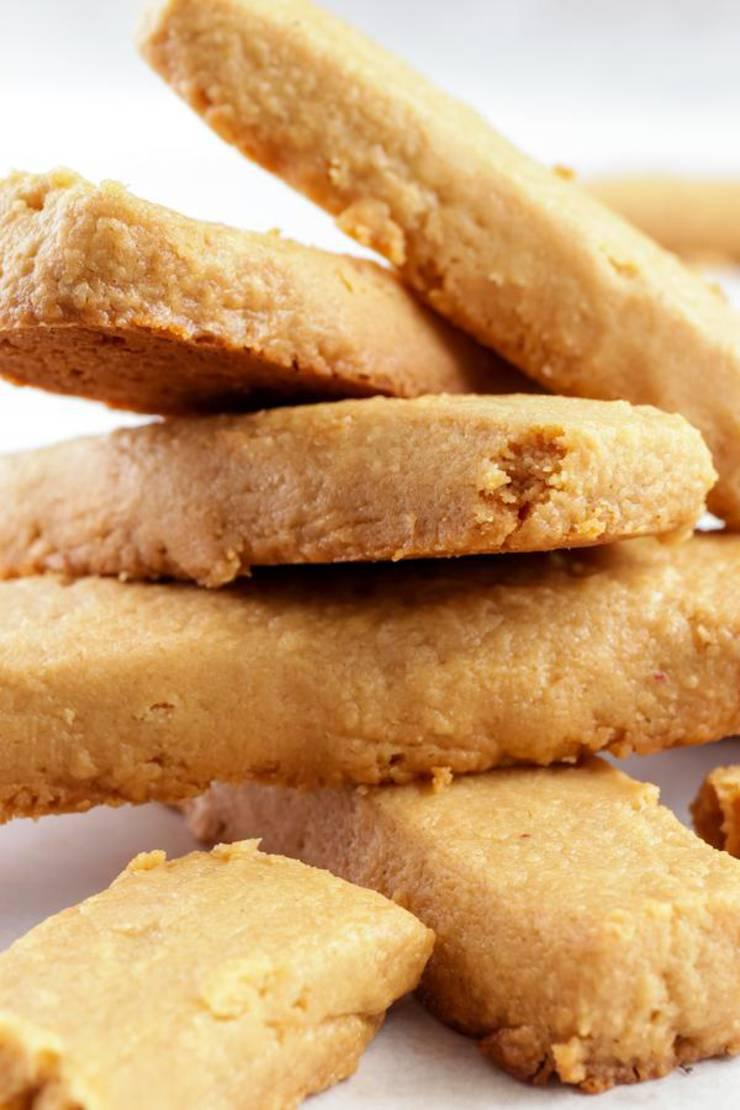 3 Ingredient Keto Peanut Butter Cookies – BEST Peanut Butter Cookie Fries Recipe – {Easy} NO Sugar Low Carb Recipe – Desserts – Snacks