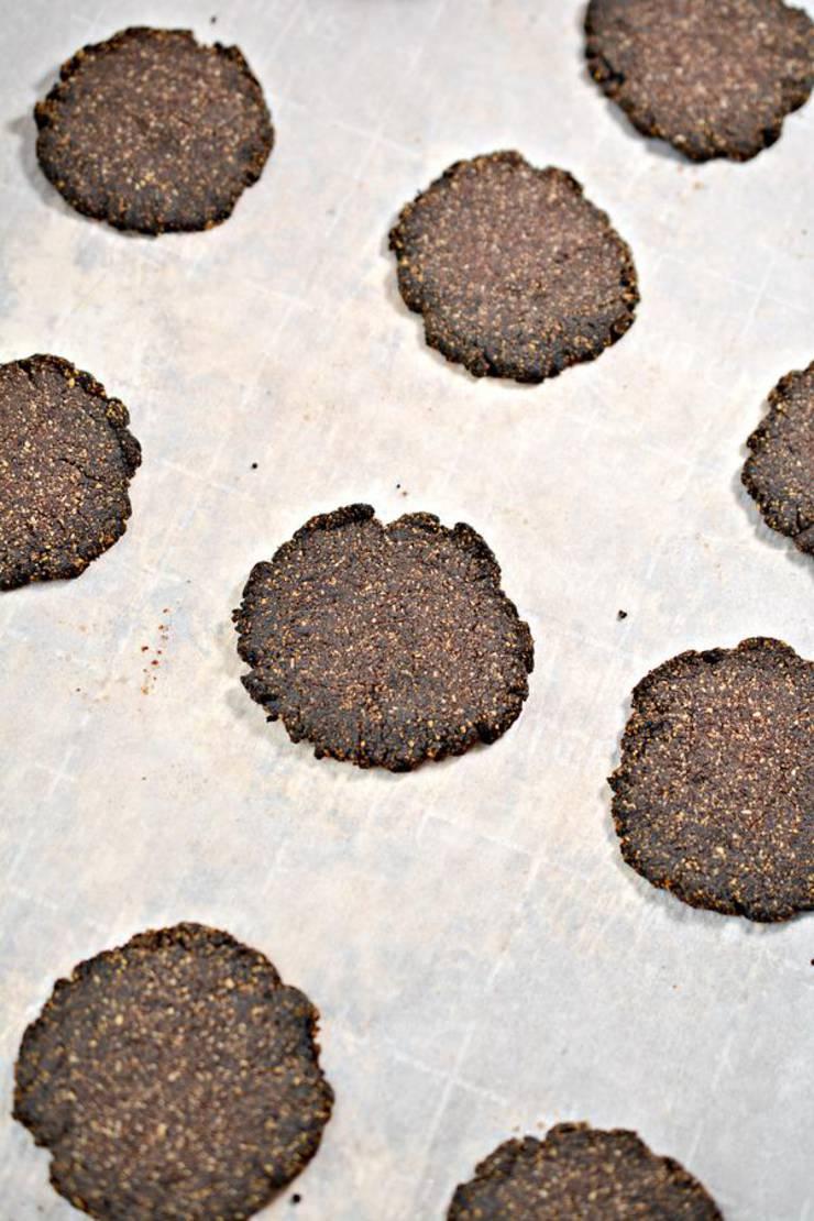 Keto 3 Musketeers Cookies