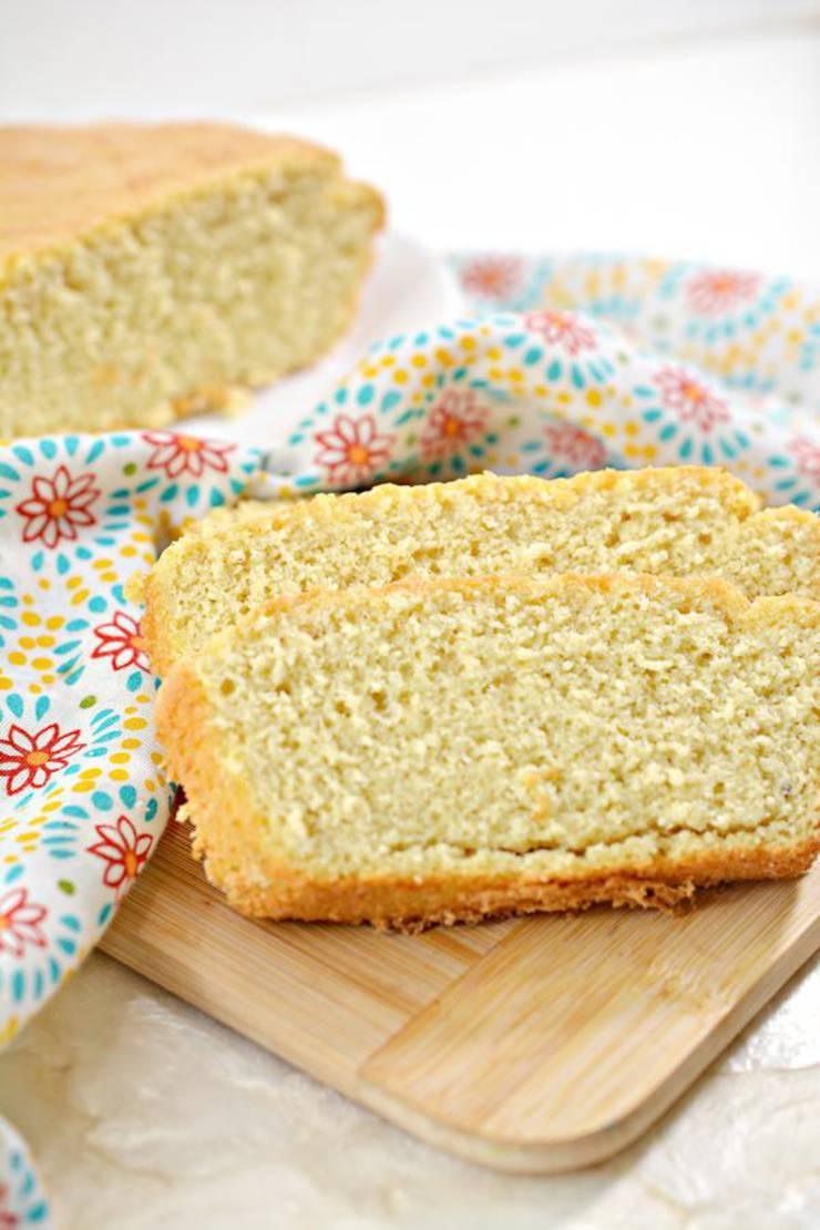 Keto Bread! BEST Low Carb Keto Banana Loaf Bread Idea – Quick & Easy Ketogenic Diet Recipe – Beginner Keto Friendly – Snacks – Desserts – Breakfast