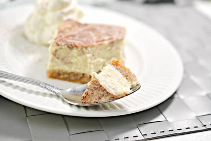 Keto Cheesecake! BEST Low Carb Keto Cinnamon Roll Cheesecake Bars Idea – {EASY} Quick Ketogenic Diet Recipe – Keto Friendly & Beginner – Desserts – Snacks