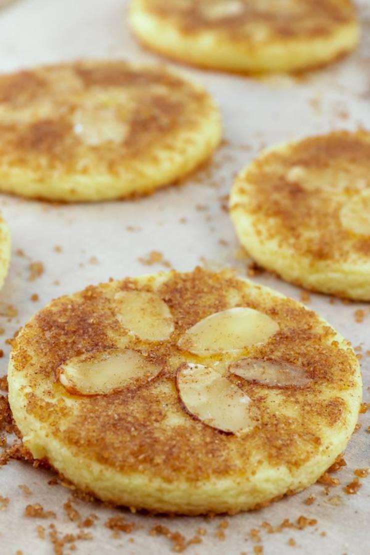 Keto Cookies – Super Yummy Low Carb Cinnamon Sugar Sand Dollar Cookie Recipe For Ketogenic Diet – Keto Friendly & Beginner – Desserts – Snacks