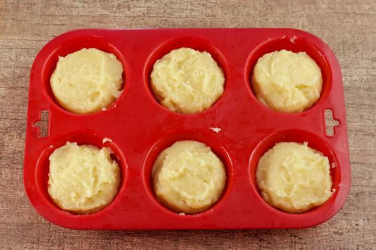 Keto Fathead Dough Lemon Muffins