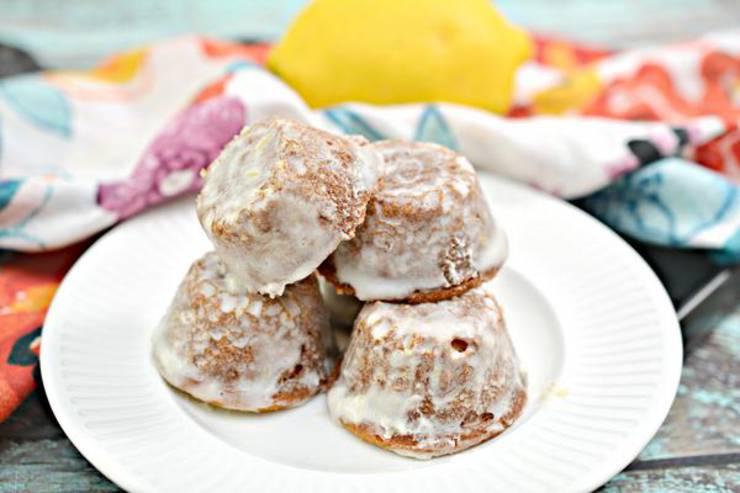 Keto Cake – BEST Low Carb Keto Mini Lemon Cakes Recipe – Easy – Desserts – Snacks – Sweets – Lemon Drop Cake Bites - Keto Friendly & Beginner