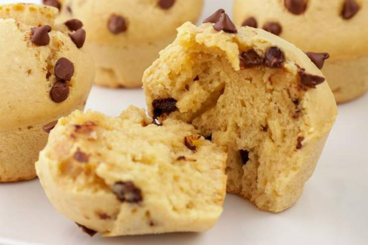 Keto Muffins – BEST Low Carb Keto Chocolate Chip Peanut Butter Muffin Recipe – Easy – Desserts – Snacks – Breakfast - Sweets – Keto Friendly & Beginner
