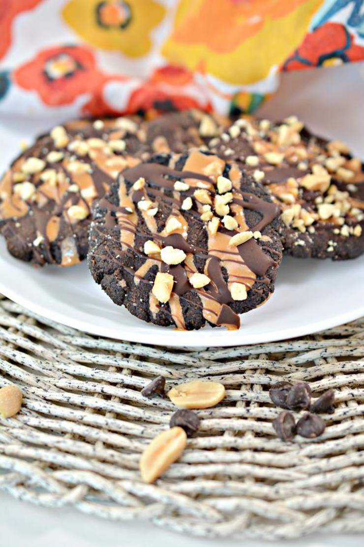 Keto Cookies – BEST Low Carb Keto Snickers Cookie Recipe – Quick and Easy Ketogenic Diet Snickers Candy Idea – Snacks – Desserts