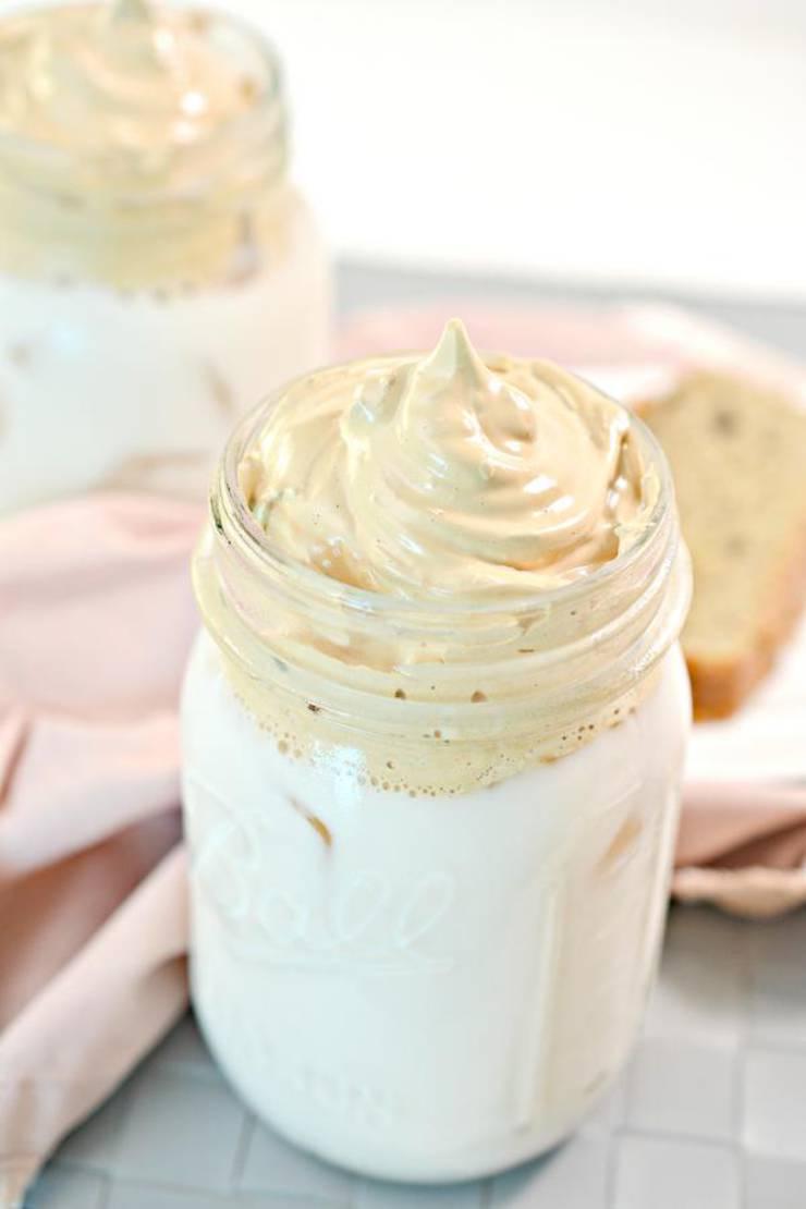 5 Ingredient Keto Coffee! Low Carb Whipped Dalgona Coffee Idea – Quick & Easy Ketogenic Diet Recipe – Keto Friendly – How To Make Keto Coffee - Tik Tok Coffee