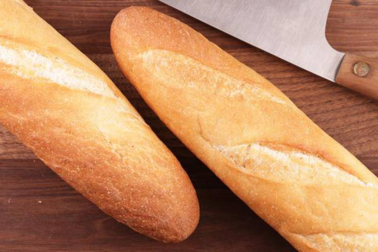 French Bread – Easy Homemade No Yeast Quick French Bread – BEST Bread Recipes – Yeastless - Yeast Free DIY Baking