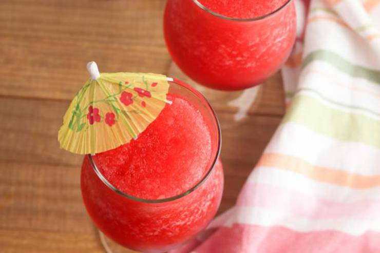 Alcoholic Drinks – BEST Cherry Rum Slushie Recipe – Easy and Simple Frozen Alcohol Drinks
