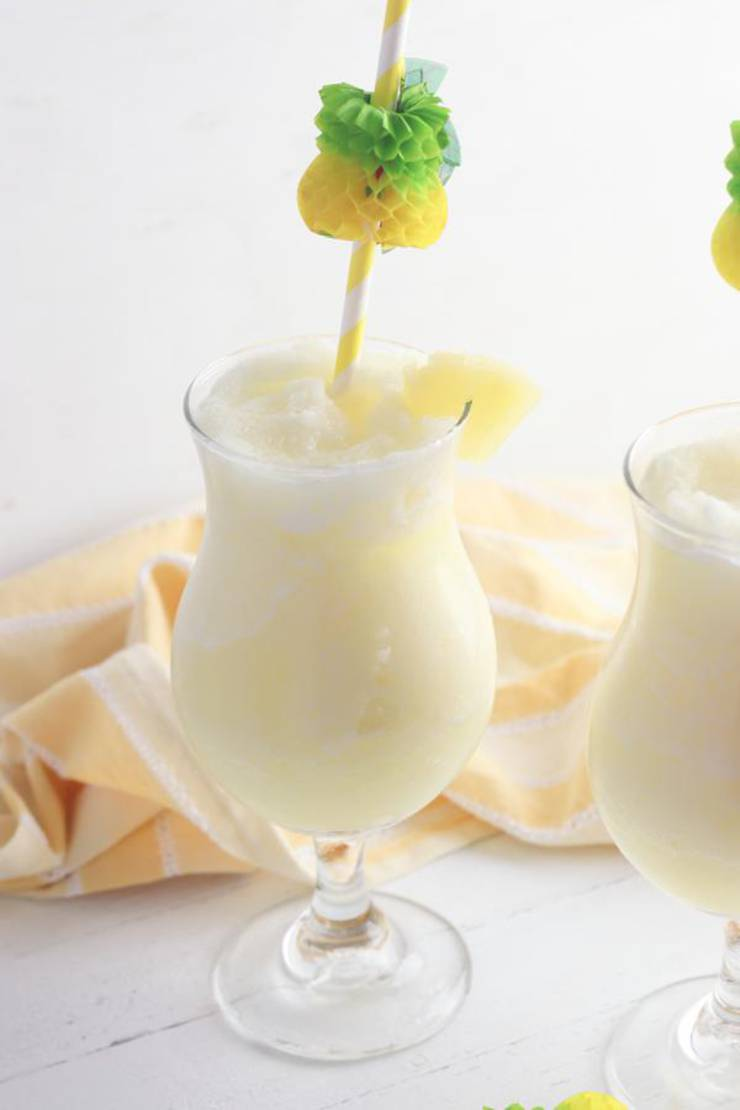 Alcoholic Drinks – BEST Pineapple Lemonade Rum Slushie Recipe – Easy and Simple Frozen Alcohol Drinks