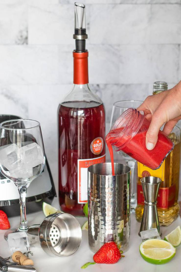 Alcohol Drinks Red Wine Cocktail