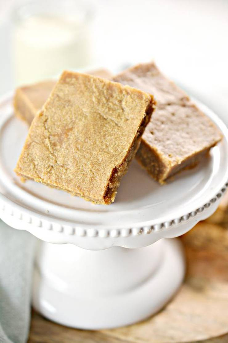 3 Ingredient Keto Peanut Butter Bars – BEST Peanut Butter Bar Recipe – {Easy} NO Sugar Low Carb Recipe – Desserts – Snacks