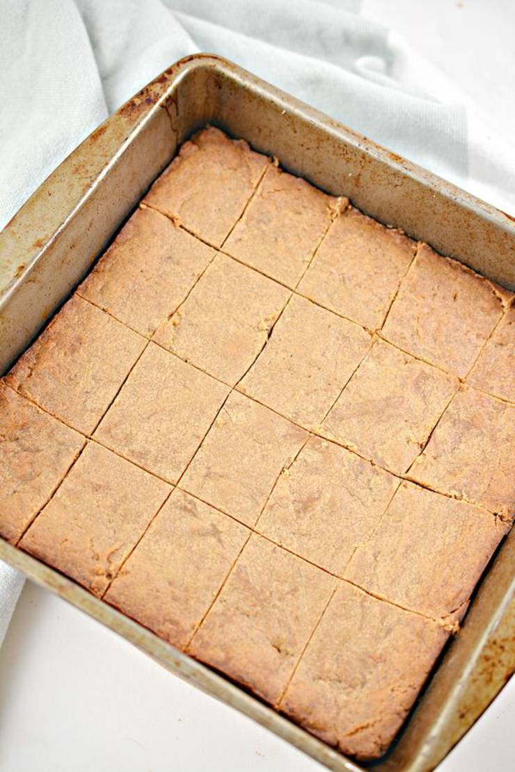 Keto 3 Ingredient Peanut Butter Bars_Low Carb