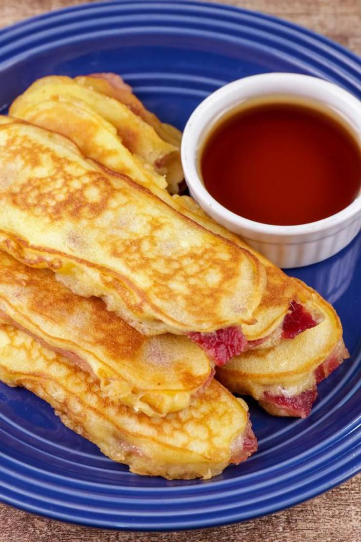 Keto Pancakes! BEST Low Carb Keto Bacon Pancake Sticks Idea – Quick & Easy Ketogenic Diet Recipe – Beginner Keto Friendly – Snacks – Desserts – Breakfast