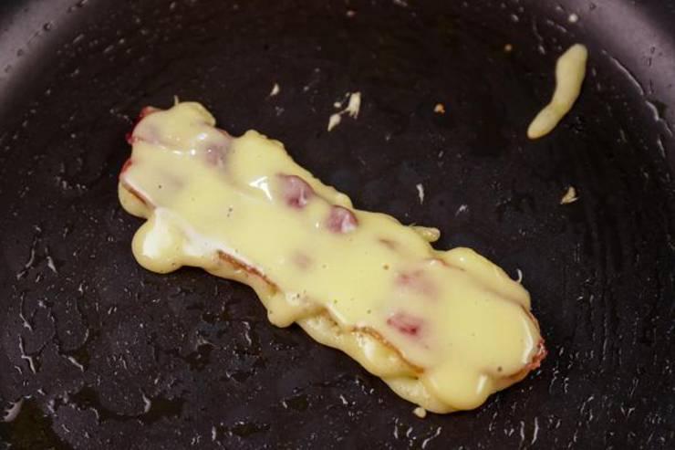Keto Bacon Pancake Sticks