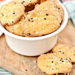 Keto Bagel Chips – BEST Low Carb Everything Bagel Chip Recipe {Easy – Homemade} Snacks - Appetizers