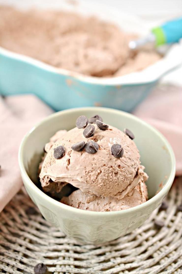 Keto Ice Cream! BEST Low Carb Keto Chocolate Ice Cream Idea – Quick & Easy Ketogenic Diet Recipe – No Churn Ice Cream - Snacks - Desserts