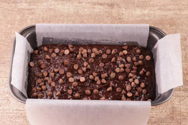 Keto Chocolate Quick Loaf Bread
