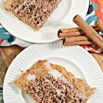 Keto Cinnamon Streusel Pizza – BEST Low Carb Recipe – Breakfast – Treat – Desserts – Snack For Ketogenic Diet – Gluten Free – Sugar Free