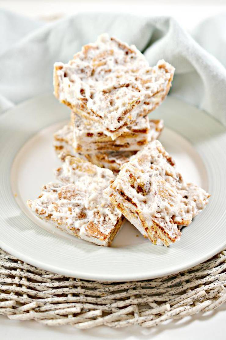 Keto Cereal Bars! BEST Low Carb Keto Cinnamon Toast Crunch Cereal Bars Idea – Quick & Easy Ketogenic Diet Recipe – Beginner Keto Friendly – Breakfast – Desserts – Snacks