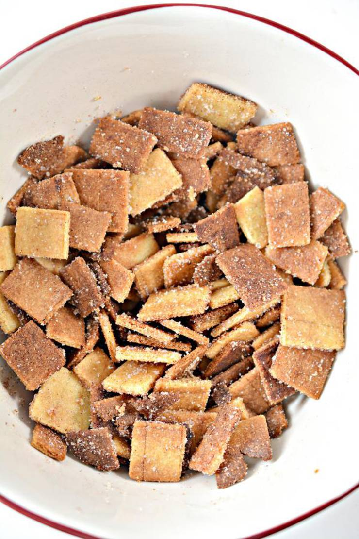 Keto Cinnamon Toast Crunch Cereal Bars